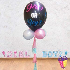 gender reveal globo